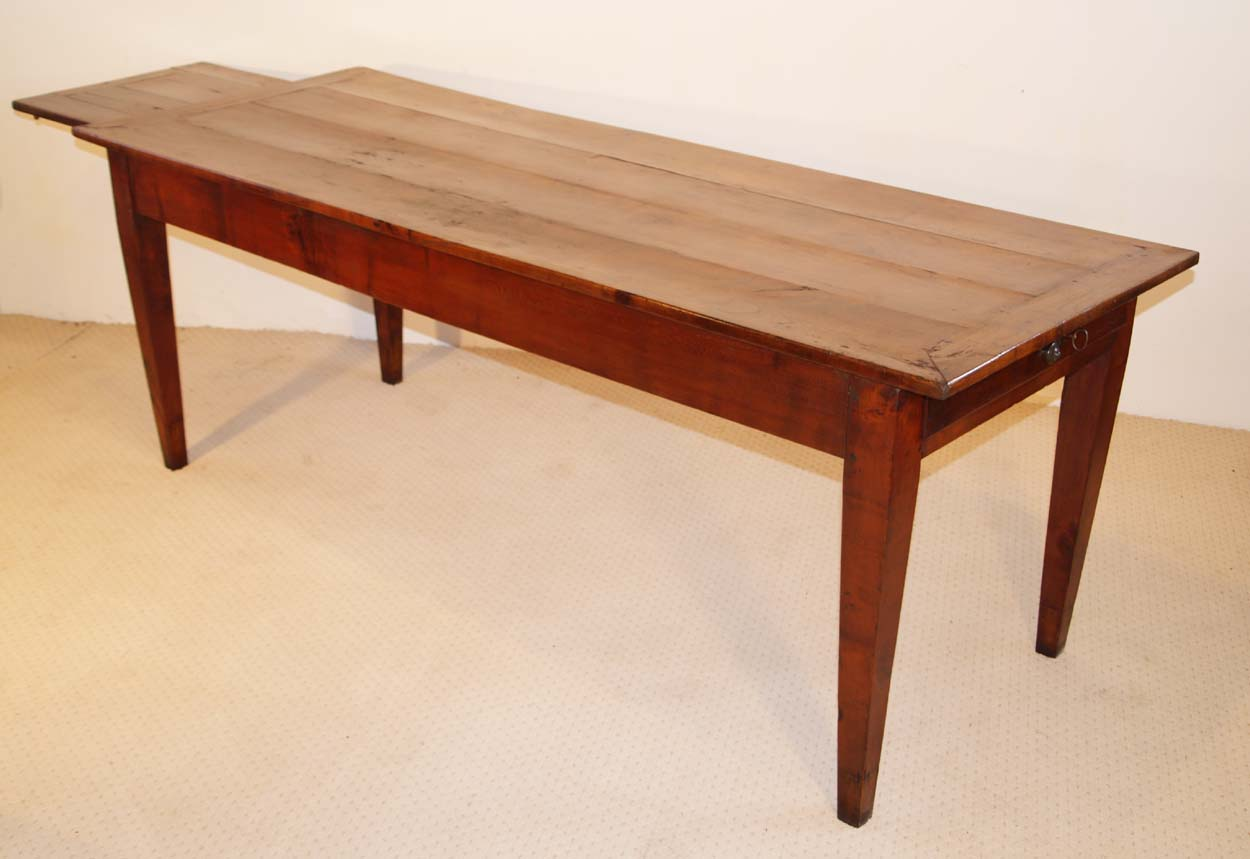 French Antique Cherry Dining Table
