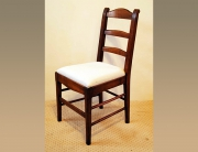 French Antique Style Provence Chair with tapered legs