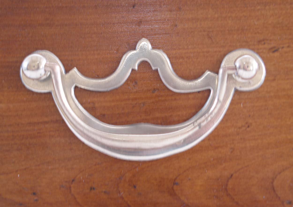 French Antique Style 3 Drawer Server, plate handle