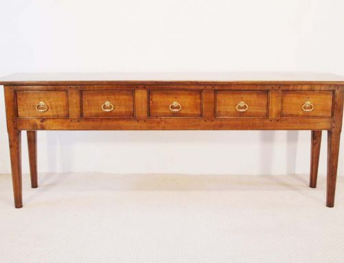 French Antique Style 5 Drawer Server