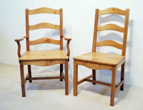 French Antique Style Bretagne Chairs