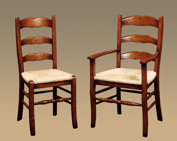 Black French Ladder Back Dining Chairs Ecustomfinishes