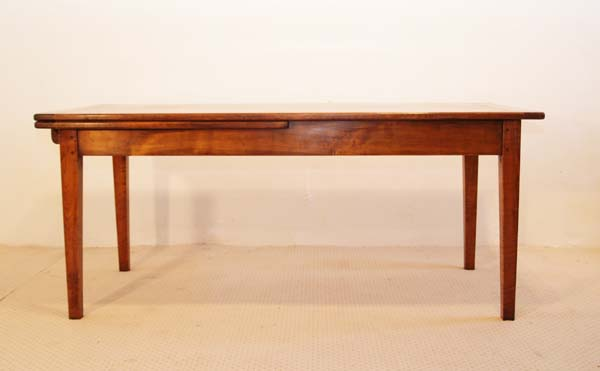 French Antique Style Single Extending Table