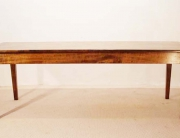 French Antique Style Table with Tapered Legs