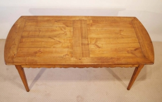 French Antique style Cherry Provence Dining table, top