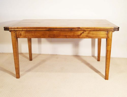 French Antique Style Double Extending Table