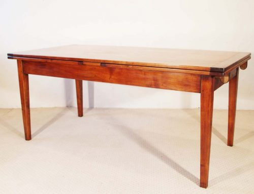 French Vintage Style Double Extending Table