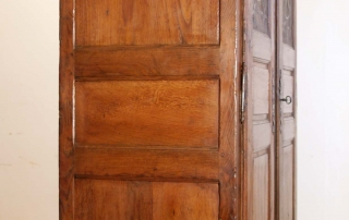 French Antique Vintage Oak Laiterie, Armoire, C 1780, side