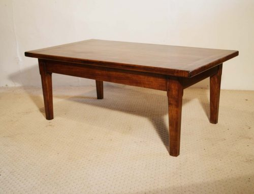 French Antique style Cherry Farmhouse Coffee Table