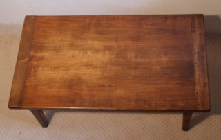 French Antique style Cherry Coffee Table, top