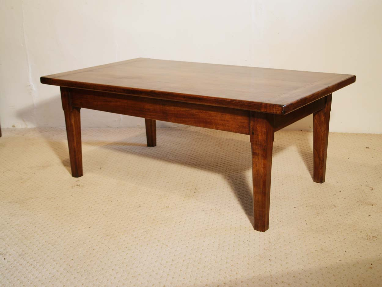 French Antique style Cherry Coffee Table