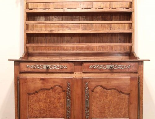 French Antique Vintage Cherry and Elm Vaisselier / Dresser C 1775