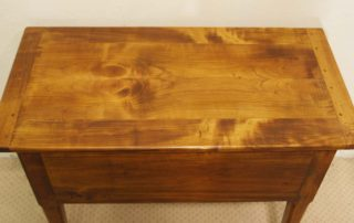 French antique style 2 drawer server top